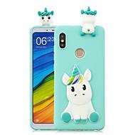 billiga Mobil cases & Skärmskydd-fodral Till Xiaomi Mi 6X / Mi 5X GDS (Gör det själv) Skal Enhörnings Mjukt TPU för Redmi Note 5A / Redmi 5A / Xiaomi Redmi 4X