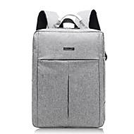 baratos Mochilas-Unisexo Bolsas Tecido Oxford mochila Ziper Cinzento Escuro / Cinzento Claro