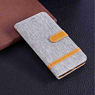 billiga Mobil cases & Skärmskydd-fodral Till Sony Xperia XA2 Ultra / Xperia XA2 Plånbok / Korthållare / med stativ Fodral Enfärgad Hårt Textil för Xperia XZ1 Compact / Sony Xperia XZ1 / Sony Xperia XZ Premium