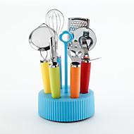 baratos Utensílios de Fruta e Vegetais-Utensílios de cozinha Aço Inoxidável e Plástico Novo Design / Gadget de Cozinha Criativa Conjuntos de ferramentas para cozinhar Multifunções / Fruta / Vegetais 1pç