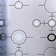 baratos Películas e Adesivos de Janela-Filme de Janelas e Adesivos Decoração Matte / Moderna 3D impressão PVC Adesivo de Janela / Fosco
