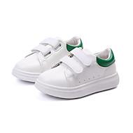 baratos Sapatos de Menino-Para Meninos Sapatos Couro Ecológico Outono & inverno Conforto Tênis Caminhada Presilha para Infantil Preto / Vermelho / Verde