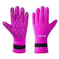 Χαμηλού Κόστους Γάντια κατάδυσης-HISEA® Γάντια Κατάδυση 3mm ΝΕΟΠΡΕΝΙΟ Διατηρείτε Ζεστό, Αντιολισθητικό, Άνετο Κολύμβηση / Καταδύσεις / Ψαροντούφεκο / Ελαστικό