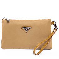 baratos Clutches & Bolsas de Noite-Mulheres Bolsas PU Bolsa de Mão Ziper Azul / Preto / Amarelo