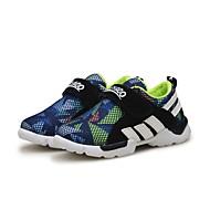 baratos Sapatos de Menino-Para Meninos Sapatos Camurça / Com Transparência Primavera & Outono Primeiros Passos Tênis Cadarço para Bébé Vermelho Escuro / Azul Real