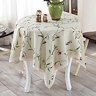 billige Bordduker-Moderne Ikke Vevet Rund Duge Geometrisk Borddekorasjoner 1 pcs
