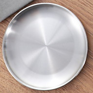 billiga Bordsservis-1 st Rostfritt stål Kreativ / Värmetålig Flata tallrikar, servis