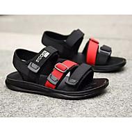 baratos Sapatos de Menino-Para Meninos Sapatos Lona Verão Conforto Sandálias para Infantil Verde Tropa / Preto / Vermelho / Black / azul