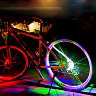 baratos -Luz de Decoração / luzes da roda LED Ciclismo Impermeável, Legal Bateria Recarregável 50 lm Mudança Ciclismo