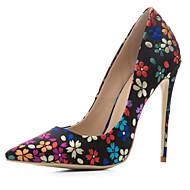 baratos Sapatos Femininos-Mulheres Sapatos Lona Primavera Plataforma Básica Saltos Salto Agulha Arco-íris