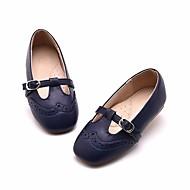 baratos Sapatos de Menina-Para Meninas Sapatos Couro Sintético Primavera & Outono Conforto / Sapatos para Daminhas de Honra Rasos para Rosa claro / Azul Real