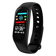 JSBP YY-CPM3 Dame Smart Armbånd Android iOS Bluetooth Vandtæt Pulsmåler Blodtryksmåling Touch-skærm Brændte kalorier Skridtæller Samtalepåmindelse Aktivitetstracker Sleeptracker Stillesiddende