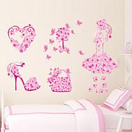 Декоративные наклейки на стены - Простые наклейки Цветочные мотивы / ботанический Гостиная / Спальня / Ванная комната