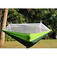 Camping-hængekøje med myggenet Udendørs Foldbar Kurv, Anti-myg Nylon for Camping / Camping / Vandring / Grotte Udforskning / Udendørs - 1