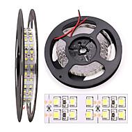 Χαμηλού Κόστους Φωτιστικά Λωρίδες LED-HKV 5m Ευέλικτες LED Φωτολωρίδες 1200 LEDs 3528 SMD Θερμό Λευκό / Ψυχρό Λευκό Μπορεί να κοπεί / Συνδέσιμο / Αυτοκόλλητο 12 V