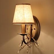 baratos Arandelas de Parede-Vintage Luminárias de parede Sala de Estar Metal Luz de parede 220-240V 40 W