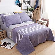 billige Hjemmetekstiler-Flat Laken - Polyester / Bomull Trykket Trykt mønster 1stk Flatt Laken