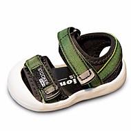 baratos Sapatos de Menino-Para Meninos Sapatos Algodão Primavera & Outono Conforto / Primeiros Passos Sandálias para Preto / Laranja / Verde