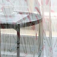 baratos Cortinas Transparentes-Sheer Curtains Shades Quarto das Crianças Geométrica Poliéster Impressão Reactiva