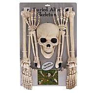 baratos -Decorações de férias Decorações de Halloween Halloween Entertaining Decorativa / Legal Branco 1pç