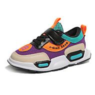baratos Sapatos de Menino-Para Meninos Sapatos Com Transparência Outono & inverno Conforto Tênis Caminhada Presilha para Infantil Preto / Roxo / Vermelho