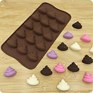 billige Bakeredskap-Bakeware verktøy Silikon 3D / Kreativ Kake / For kjøkkenutstyr Cake Moulds 1pc