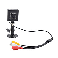 billige Overvåkningskameraer-hqcam audio 800tvl cmos 0.03lux 10pcs 940nm ir ledet sikkerhet kamera ir nattesyn 1/3 tommers boks kamera / ir kamera