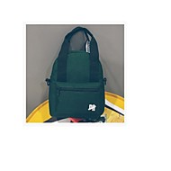 baratos Mochilas-Mulheres Bolsas Tela de pintura mochila Ziper / Cor Única Rosa / Amarelo / Verde Escuro