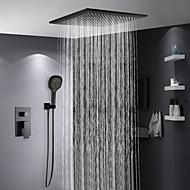 Duscharmaturen - Moderne Lackierte Oberflächen Duschsystem Keramisches Ventil Bath Shower Mixer Taps / Messing / Einhand Drei Löcher