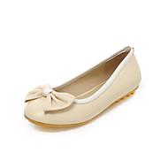 baratos Sapatos de Menina-Para Meninas Sapatos Couro Ecológico Verão Conforto Rasos Laço para Infantil / Adolescente Bege / Azul / Rosa claro