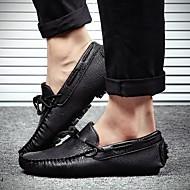 Χαμηλού Κόστους Αντρικά Ναυτικά Παπούτσια-Ανδρικά Μικροΐνα Άνοιξη / Φθινόπωρο Καταδυτικά παπούτσια Παπούτσια Boat Μαύρο / Ασημί / Κόκκινο