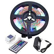 Cheap led strip lights online led strip lights for 2018 hkv 5m flexible led light strips light sets 300 leds 3528 smd 1 44keys remote controller 1 x 2a power adapter rgb cuttable linkable self adhesive aloadofball Choice Image
