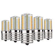 billige Bi-pin lamper med LED-YWXLIGHT® 5pcs 4 W 300 lm E17 LED-lamper med G-sokkel T 72 LED perler SMD 4014 Mulighet for demping Varm hvit / Kjølig hvit / Naturlig Hvit 110-130 V