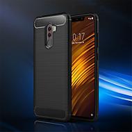 Etui Til Xiaomi Xiaomi Pocophone F1 / Mi 8 SE Stødsikker Bagcover Ensfarvet Blødt TPU for Xiaomi Pocophone F1 / Xiaomi Mi 8 / Xiaomi Mi 8 SE