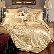 комплекты пододеяльников люкс комплекты постельного белья из жаккарда из полиэстера 4 шт. / 400 / 4шт.