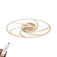 billige Taklamper-ZHISHU 4-Light Takplafond Omgivelseslys Malte Finishes Aluminum Mini Stil, Mulighet for demping 110-120V / 220-240V Dimbar med fjernkontroll LED lyskilde inkludert / Integrert LED