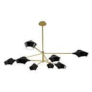billige Takbelysning og vifter-ZHISHU 8-Light Originale Lysekroner Nedlys Malte Finishes Metall Mini Stil 110-120V / 220-240V Pære ikke Inkludert