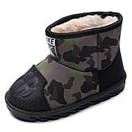 baratos Sapatos de Menina-Para Meninos / Para Meninas Sapatos Microfibra Inverno / Outono & inverno Botas de Neve Botas para Infantil / Adolescente Vermelho / Verde Claro