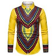 Men's Daily Shirt - Tribal Red L / Long Sleeve