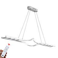 billige Udsalg-ZHISHU Lysekroner Omgivelseslys Malte Finishes Aluminum Mini Stil, Kreativ, Mulighet for demping 110-120V / 220-240V Dimbar med fjernkontroll LED lyskilde inkludert / Integrert LED