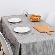 billige Bordduker-Moderne Bomull Kvadrat Duge Stripet Borddekorasjoner 1 pcs