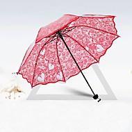 "billiga Brudparaplyer-Posthandtag Bröllop / Dagligen Paraply Unik bröllopsdekor 31.5""(Approx.80cm)"