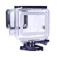 1 pcs защитный футляр Водонепроницаемый футляр Для Экшн камера Gopro 5 Gopro 4 Плавание Дайвинг Серфинг Органическое стекло ПВХ