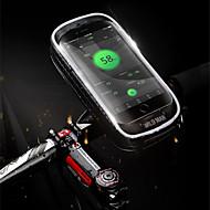 Χαμηλού Κόστους Κάλυμμα ποδηλάτου-Τσάντα για τιμόνι ποδηλάτου 5.7-6.3 inch Ποδηλασία για Ποδηλασία Μαύρο