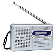 BC-R119 วิทยุแบบพกพา เครื่องเล่น MP3 อื่นๆ โลกรับ สีเงิน
