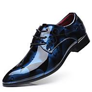 baratos Sapatos de Tamanho Pequeno-Homens Sapatos formais Couro Ecológico Primavera Negócio Oxfords Amarelo / Vermelho / Azul