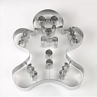 billige Kjeksverktøy-Bakeware verktøy Rustfritt stål Søtt Til Småkake Pieverktøy 1pc