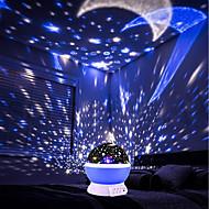 ברלונג 1 PC הקרנה USB השמים אור ורוד / כחול / סגול