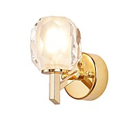 billige Krystall Vegglys-QIHengZhaoMing LED / Moderne / Nutidig Vegglamper butikker / cafeer / Kontor Metall Vegglampe 110-120V / 220-240V 5 W