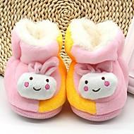 baratos Sapatos de Menina-Para Meninas Sapatos Algodão Inverno Conforto Chinelos e flip-flops para Bébé Azul / Rosa claro / Khaki / Estampa Colorida